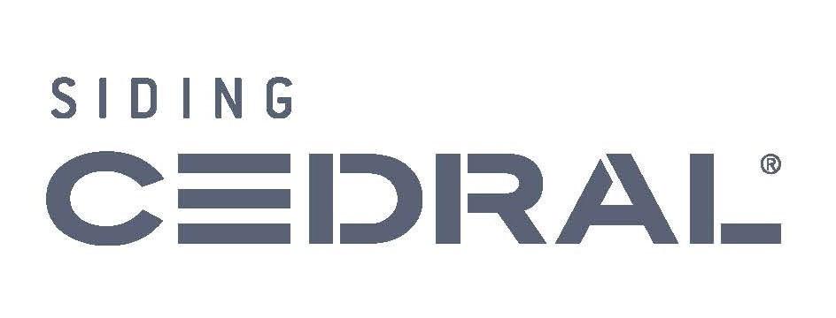 Logo Siding Cedral blanco