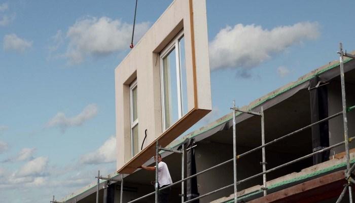 Cedral ist ideal für modulares Bauen