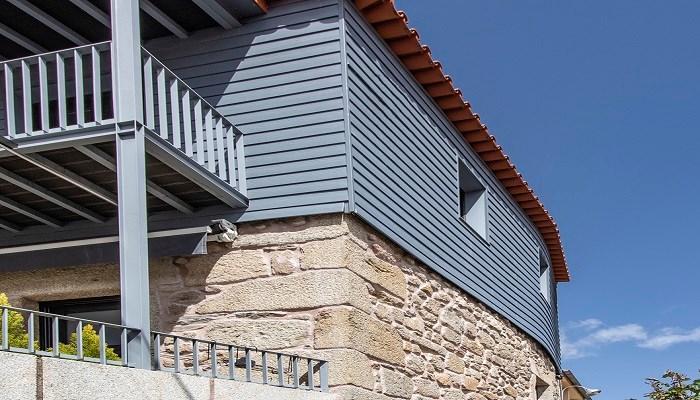 Cómo construir una fachada madera de bajo mantenimiento y sin pintar
