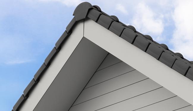 Perfekte Abschlüsse dank Cedral Dachuntersichten