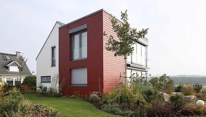 La mezcla de materiales: una tendencia actual en fachadas