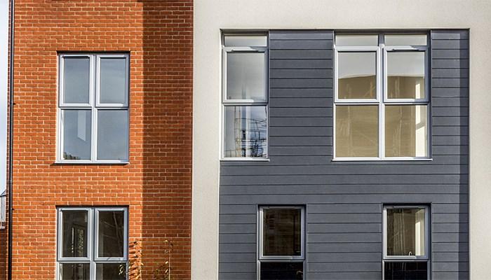Fassadensanierung mit Cedral Faserzementpaneelen