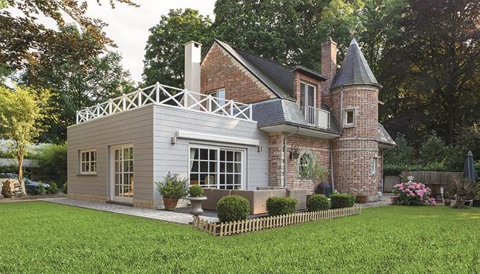 Cedral sidings pour votre véranda, votre abri de jardin ou votre carport