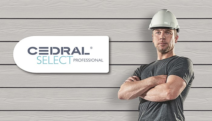 5 reasons to choose a Cedral Select installer for your façade