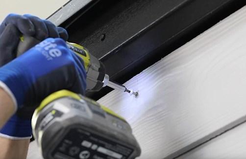Cómo instalar una fachada con Cedral Lap