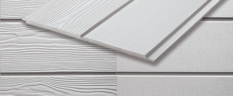 Weatherboard in fibre cement for house facade easy click to fix