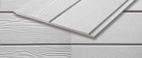 Lames de bardage en fibre-ciment pour revêtement de façade faciles à fixer
