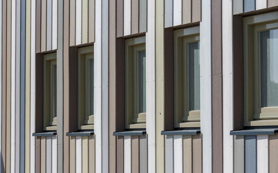 Almere Cedral Lap Wood Pannenkoekenhuis