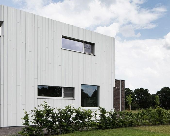 7 maisons uniques avec un bardage à pose verticale
